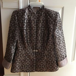 Special Occasion Holiday Blazer Top